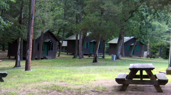 Cabins at Camp Cedarcrest